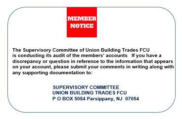 Member Notice